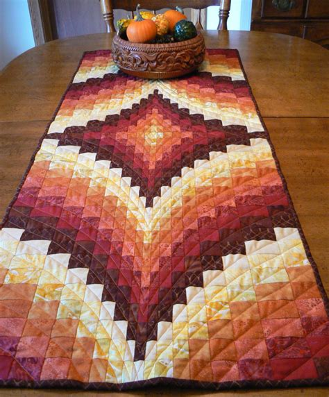 fall table runners to make fall bargello table runner by sosewbig on etsy
