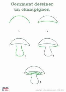 Comment Affuter Un Foret : comment dessiner un champignon cabane id es ~ Dailycaller-alerts.com Idées de Décoration
