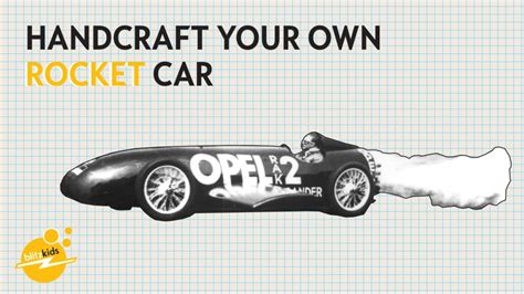 Opel Raketenauto by Rocket Powered Tinker Opel Post