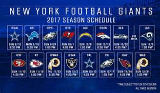 dallas cowboys new york giants schedule collections