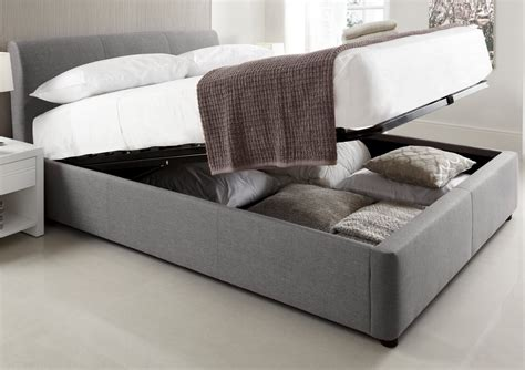 king size ottoman storage bed serenity upholstered ottoman storage bed grey king