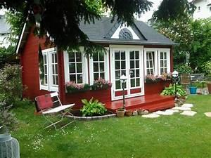 Mini Solaranlage Für Gartenhaus : schwedenrot stilvoll die sch nsten schwedenhaus ~ Articles-book.com Haus und Dekorationen