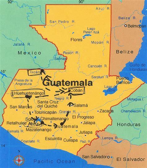 map  guatemala heifer