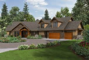 craftsman ranch house plans with walkout basement residential design ideas