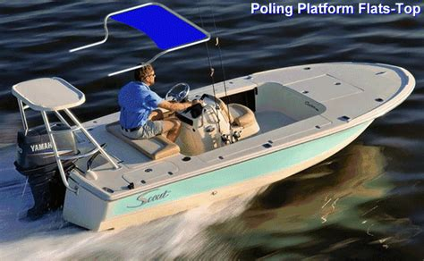 Scout Boats Bimini Top flats top boat design forums