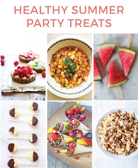 treats for adults healthy summer party treats healthy ideas for kids
