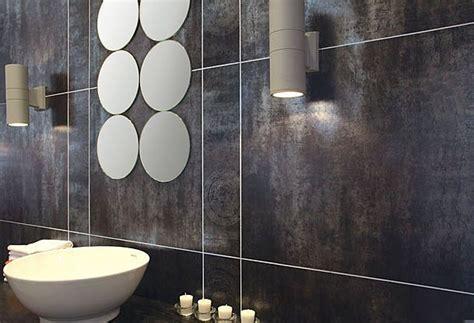 Metallic Bathroom Tiles by 37 Best Metallic Tiled Looks Images On