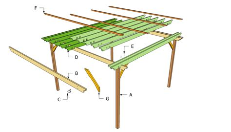 patio pergola plans  outdoor plans diy shed wooden playhouse bbq woodworking projects