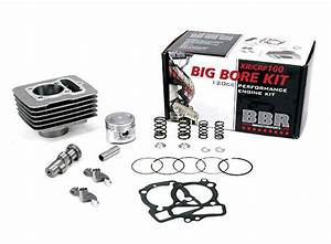 Bbr 120cc Big Bore Kit With Cam - Xr  Crf100 - 411-hxr-1001 - Crf100  U0026 Xr100