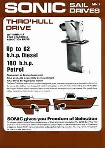 Sillette Sonic Saildrive Mk1 Brochure