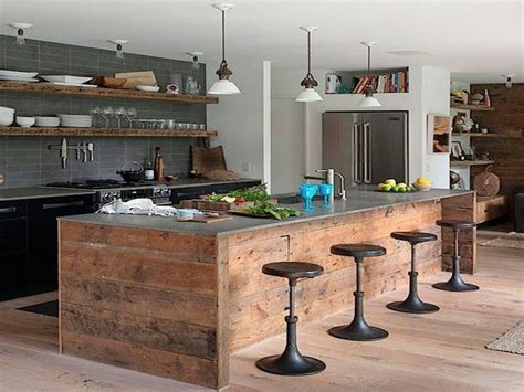 kitchen wood island stools pictures decorations