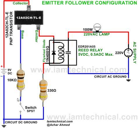 Emitter Follower Configuration Pnp Transistor Ach