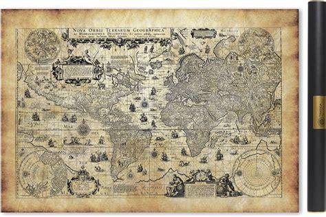 La Réunion Carte Géographique Monde by Carte Ancienne Du Monde En 1623
