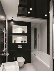 Küchenboden Schwarz Weiß : kleines badezimmer gestalten 30 fliesen ideen und tipps ~ Sanjose-hotels-ca.com Haus und Dekorationen