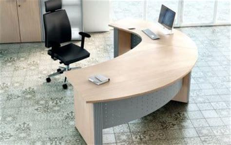 bureau arrondi créer facilement bureau feng shui le simon