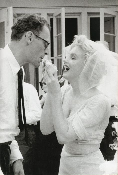 marilyn monroe arthur miller wedding  mm