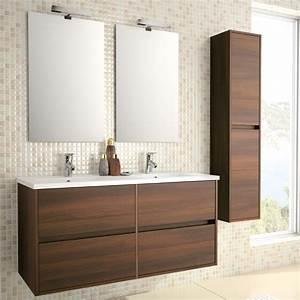 Salle De Bain Meuble : meuble de salle de bain wenge ~ Dailycaller-alerts.com Idées de Décoration
