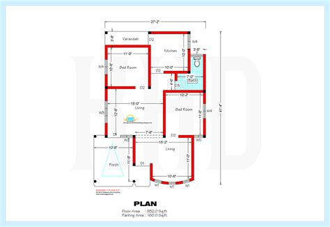 home plan com 1200 square home plan and elevation kerala home