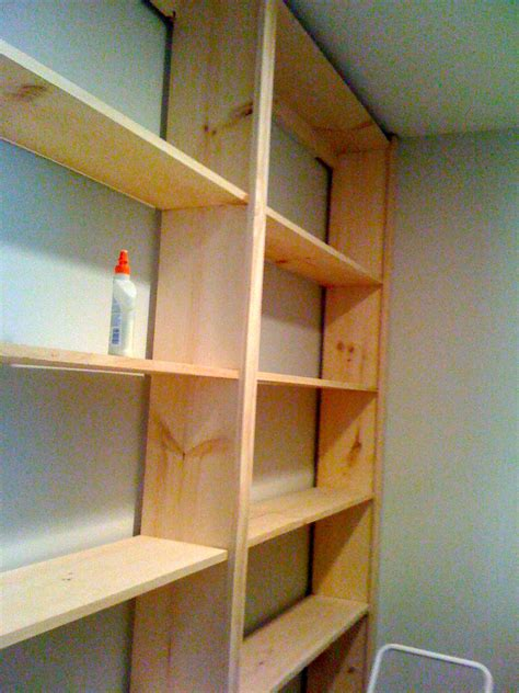build built in bookcase diy wall bookcase pdf woodworking