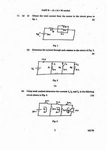 Anna University Question Bank  Circuit Analysis