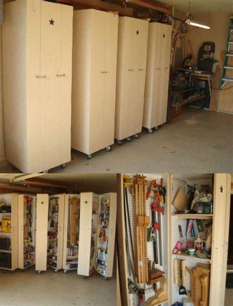 pull kitchen cabinets 49 brilliant garage organization tips ideas and diy 4435
