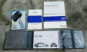 Genuine Oem 2004 Volvo S60 S60r Owners Manual