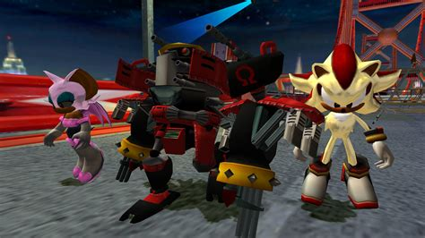 team dark sa edition sonic heroes skin mods