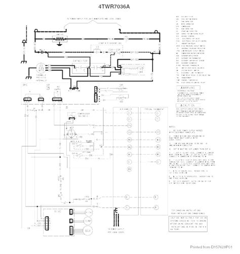 Trane Ac Wiring Diagram by Trane Heat Wiring Diagram Free Wiring Diagram