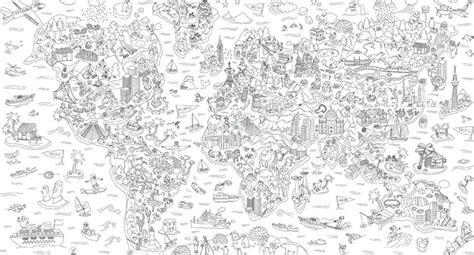 Carte Du Monde à Colorier Omy by Coloriages Monde F 233 Erique Adultes