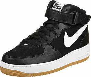 Nike Air Force 1 Mid 07 shoes black white