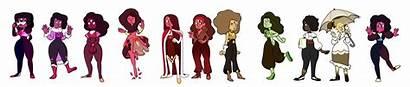 Garnet Kinds Steven Universe Gem Deviantart Fan