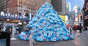 Times Square sugar dump, brought to you by KIND
