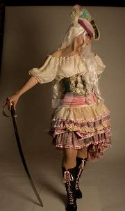 Pink Pirate 3 by RobynGoodfellow | Pirate dress, Pirate ...