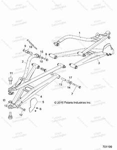 Polaris Side By Side 2017 Oem Parts Diagram For Suspension