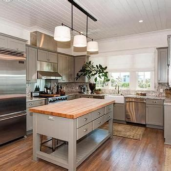 Shiplap Ceiling Kitchen by Shiplap Cottage Kitchen Features A Shiplap Ceiling