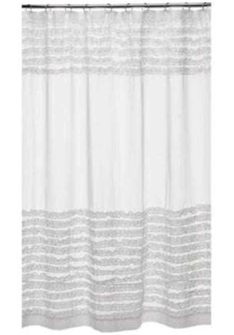 White Ruffle Curtains Target by Name 5 Things Ruffled White Shower Curtain