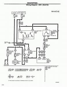 2001 Nissan Frontier Transmission Wiring