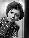 Betty Lynn Portrait in White polka dot Black Short Sleeve ...