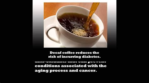 How much caffeine in a cup of coffee. Decaf Coffee Is Healthy For You! - YouTube