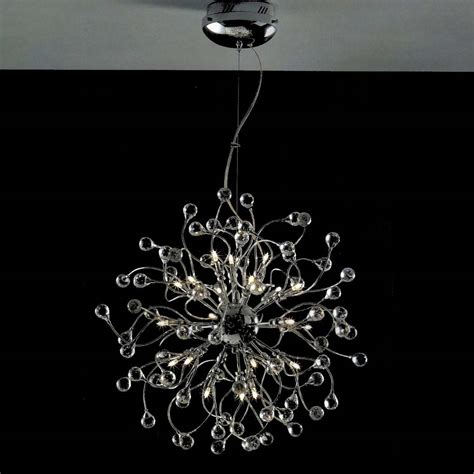 Modern Chrome Chandelier by Brizzo Lighting Stores 24 Quot Sfera Modern