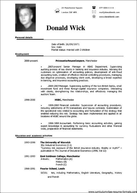 CV FORMAT DOC TO PDF - (Pdf Plus.)