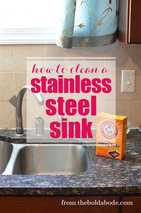 best way to clean stainless steel sink the best way to clean a stainless steel sink home and garden