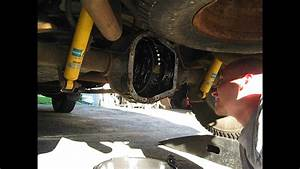 Ford F150 Rear Axle Cover Removal And Inspection