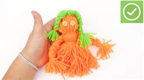 yarn doll  pictures wikihow
