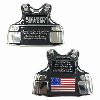 Security Challenge Coin Officer 2x