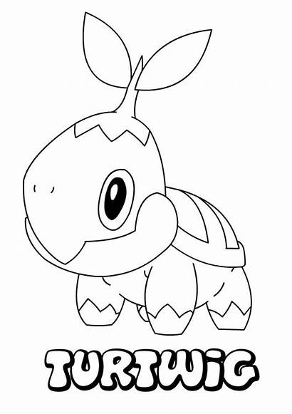 Pokemon Grass Type Coloring Pages Printable Getcolorings