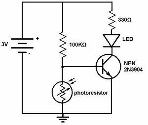 how to build a dark activated light circuit With simple white led night light ledandlightcircuit circuit diagram