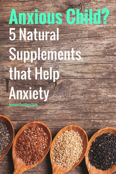anxious child    supplements  anxiety