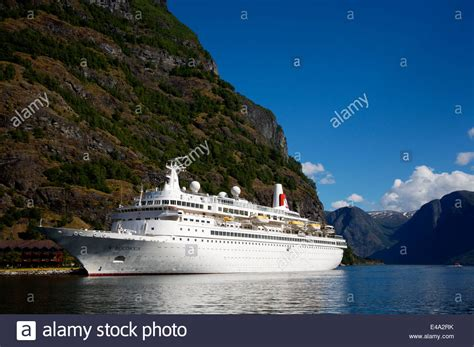 Cruise Ship, Fred Olsen's Boudicca, In Flam, Norway, A