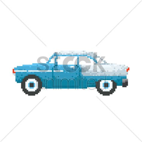 pixel car png pixel art vintage car vector image 1987344 stockunlimited
